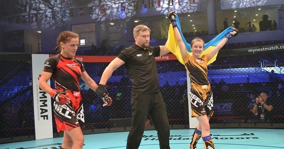 Светкивская победила всех соперниц / фото: Федерация MMA Украины