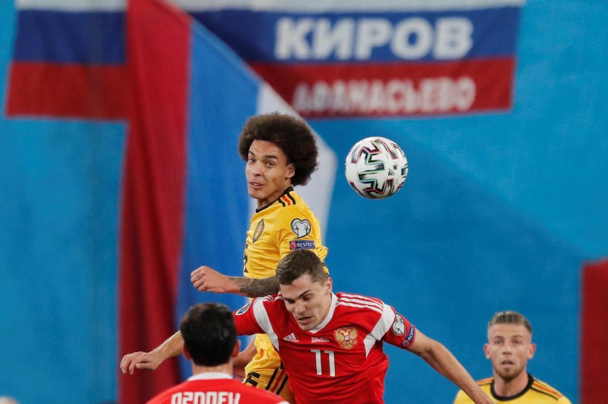 Бельгія розгромила Росію / REUTERS