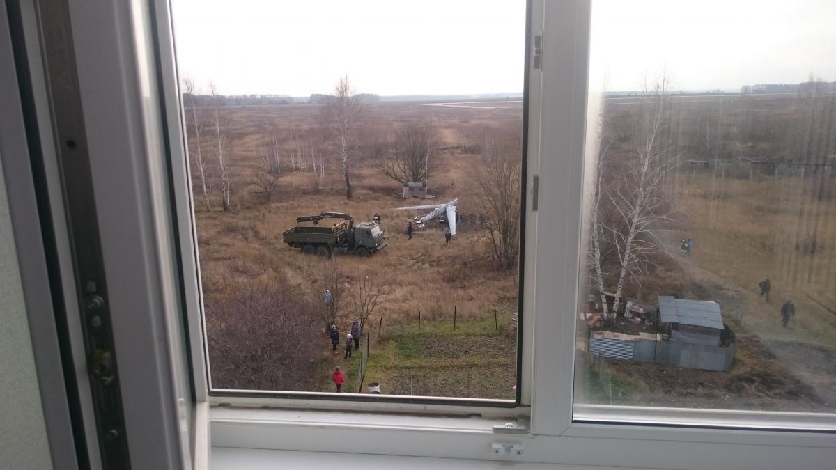 У Росії поряд з житловими будинками впав дрон / ya62.ru - фото Олега Кондратова