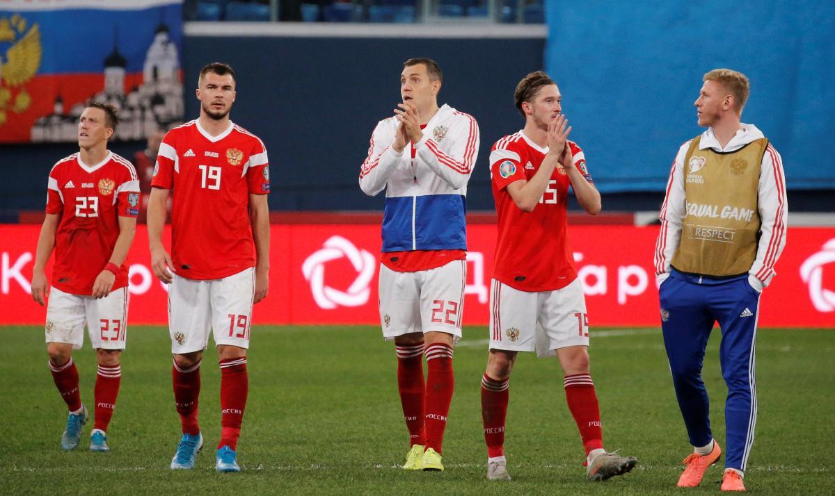 Гравці збірної Росії / REUTERS