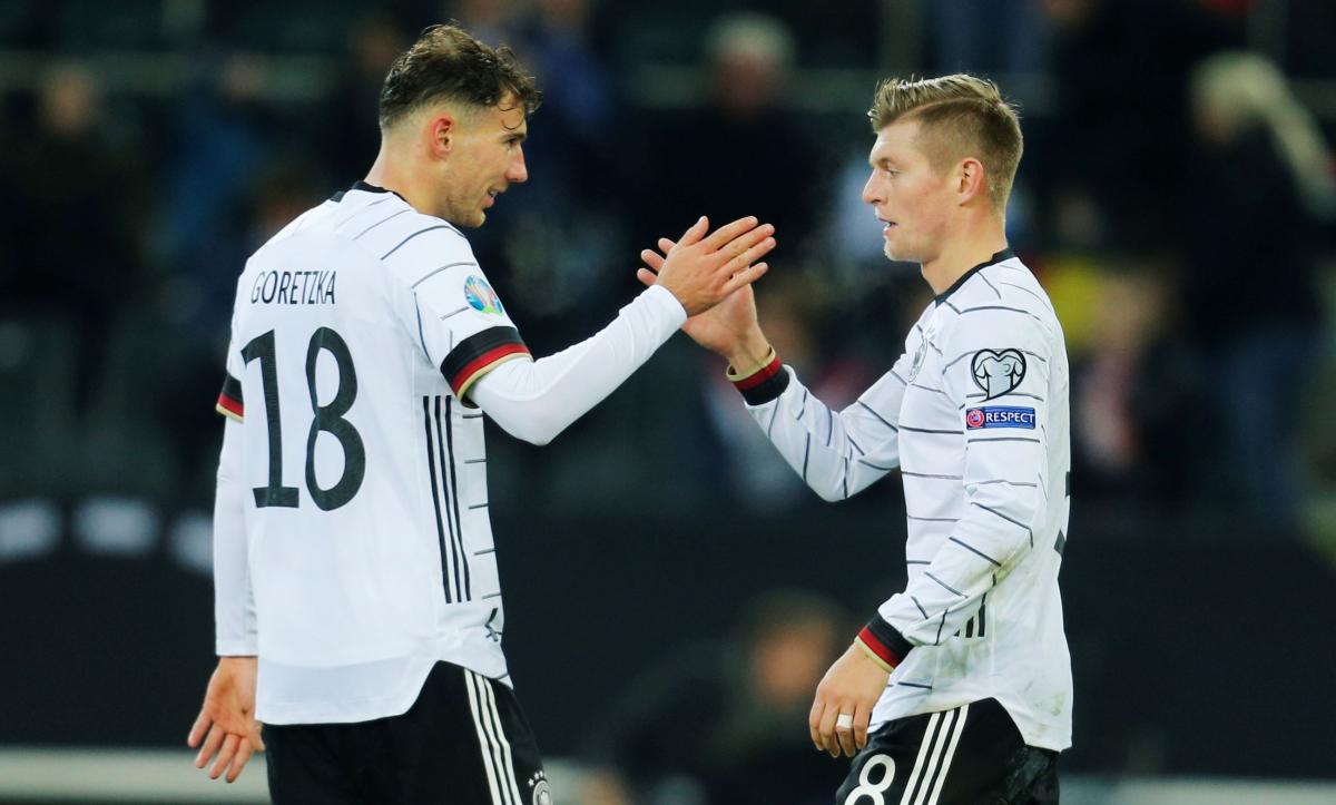 Игроки сборной Германии / REUTERS