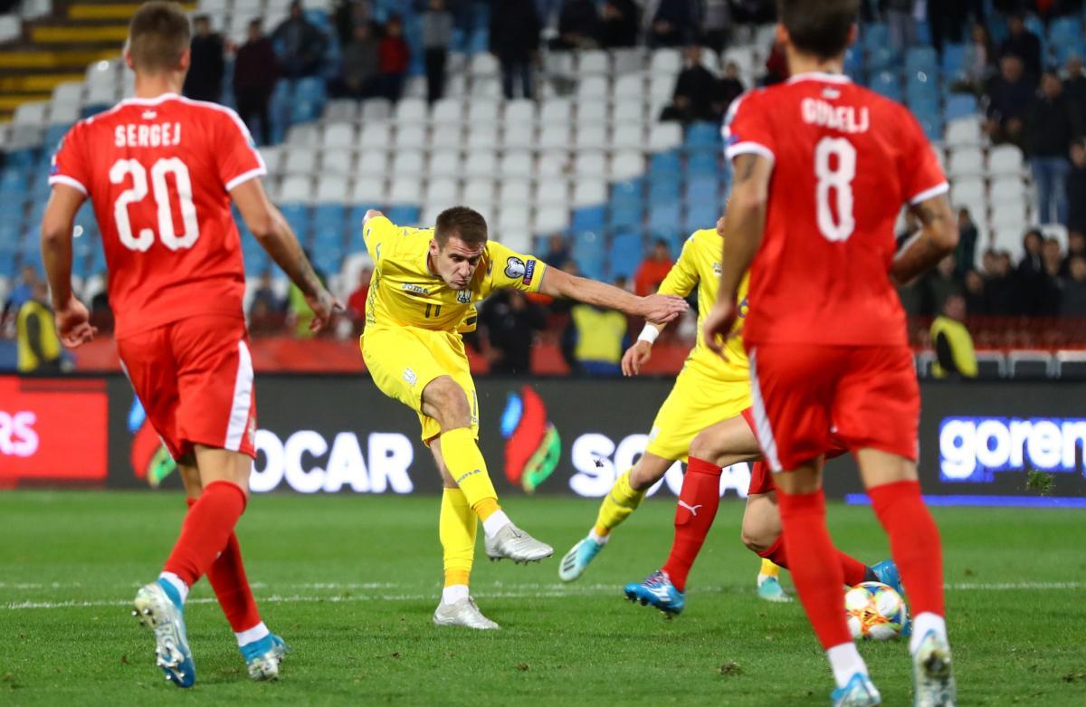 Сербія - Україна / REUTERS
