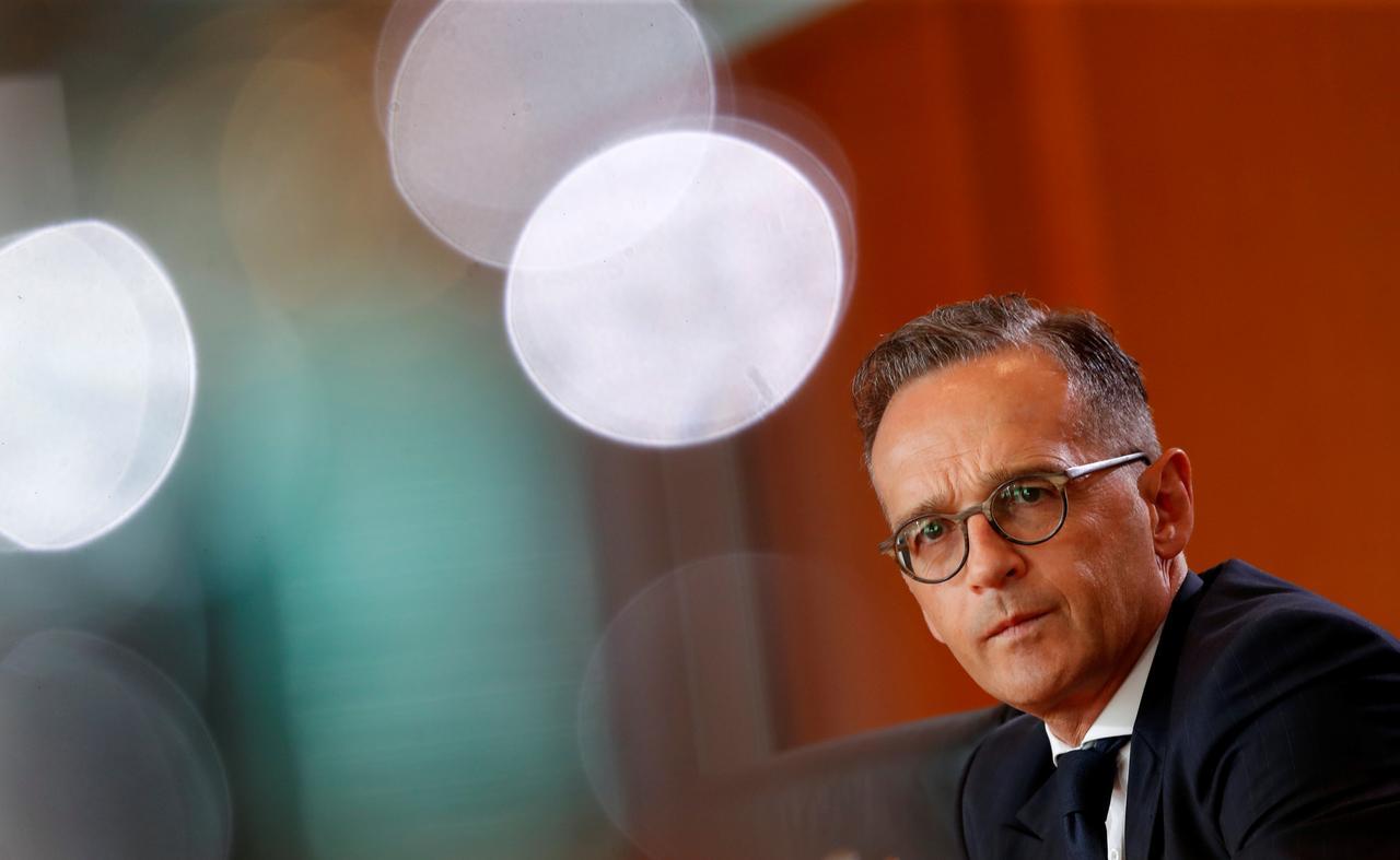 Министр иностранных дел Германии Гайко Маас/ REUTERS
