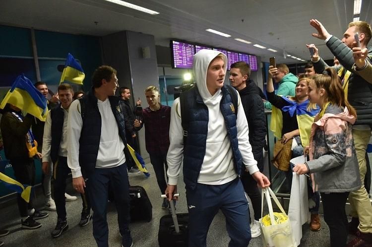 Сборная Украины в последнем туре играла в Сербии / фото: УАФ