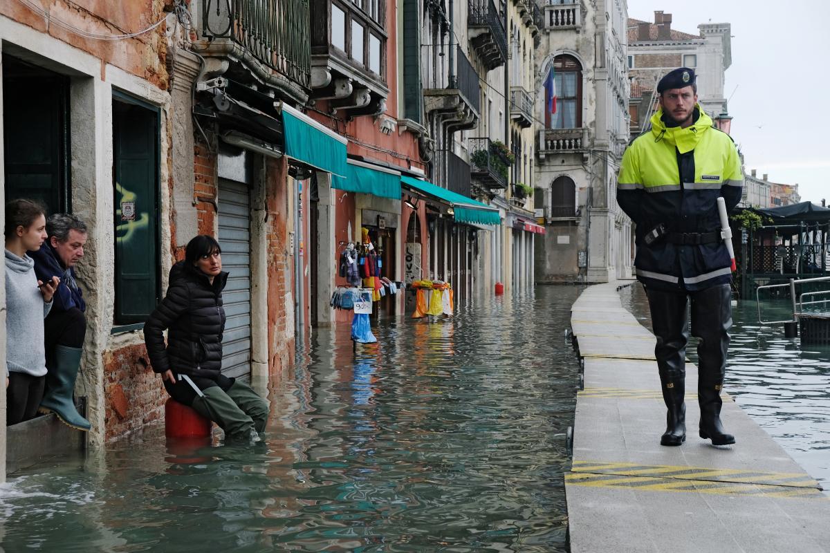 Повінь у Венеції / REUTERS