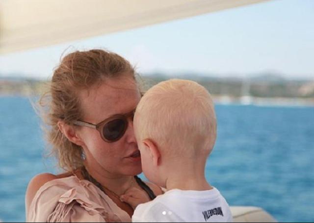Собчак трогательно поздравила сына с днем рождения / фото instagram.com/xenia_sobchak/