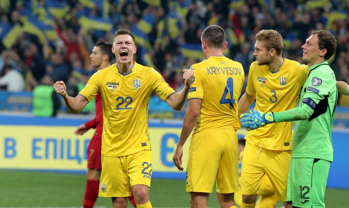 Сборная Украины вышла на Евро-2020 / УНИАН