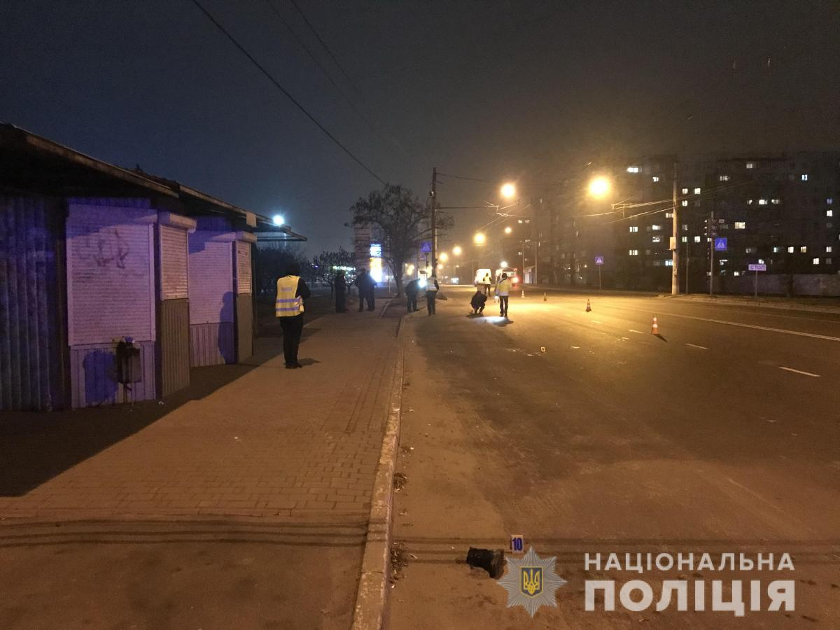 Мужчина сбил девушку, управляя автомобилем в нетрезвом состоянии / фото: полиция Сумской области