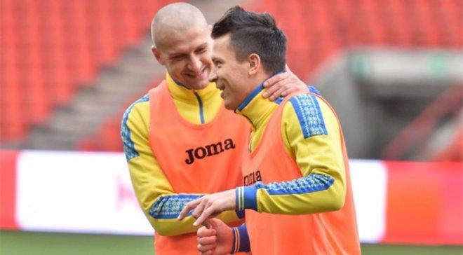 Ракицкий и Коноплянка долго выступали за сборную вместе / фото: УАФ