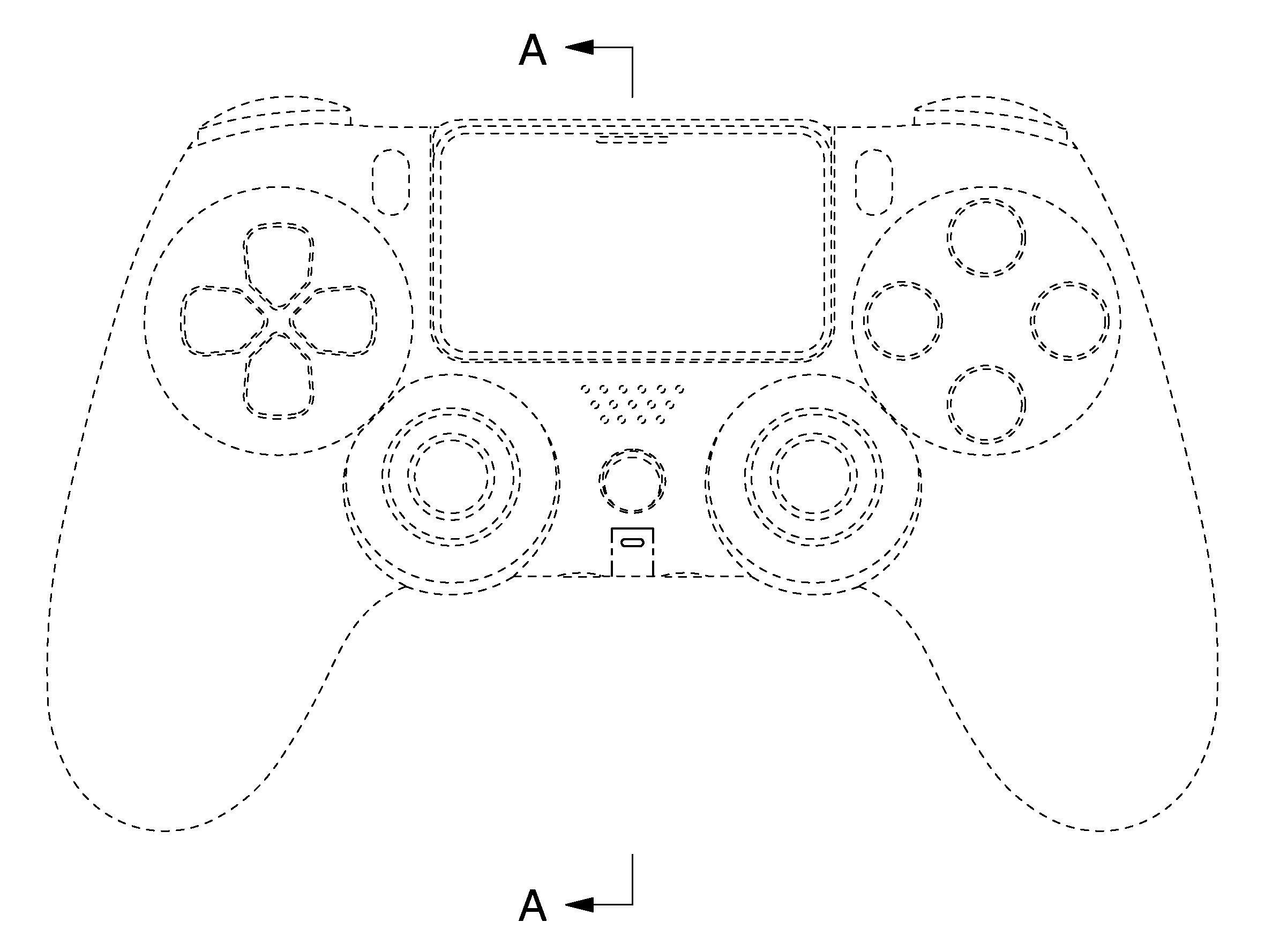 Согласно патенту так может выглядеть новый геймпад для PS5 / j-platpat.inpit.go