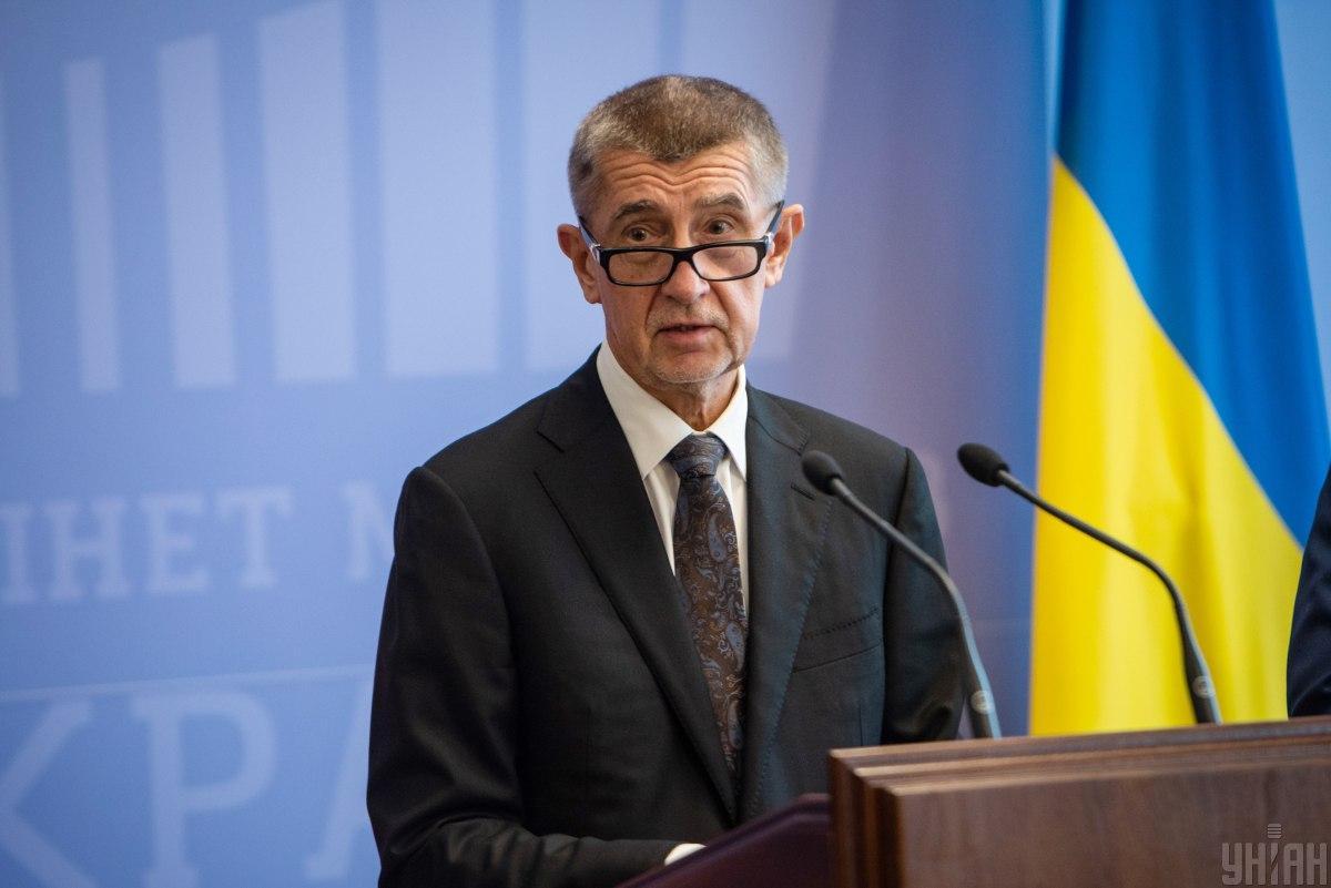 Бабіш зазначив, що в Україні працює 220 чеських фірм \ УНІАН