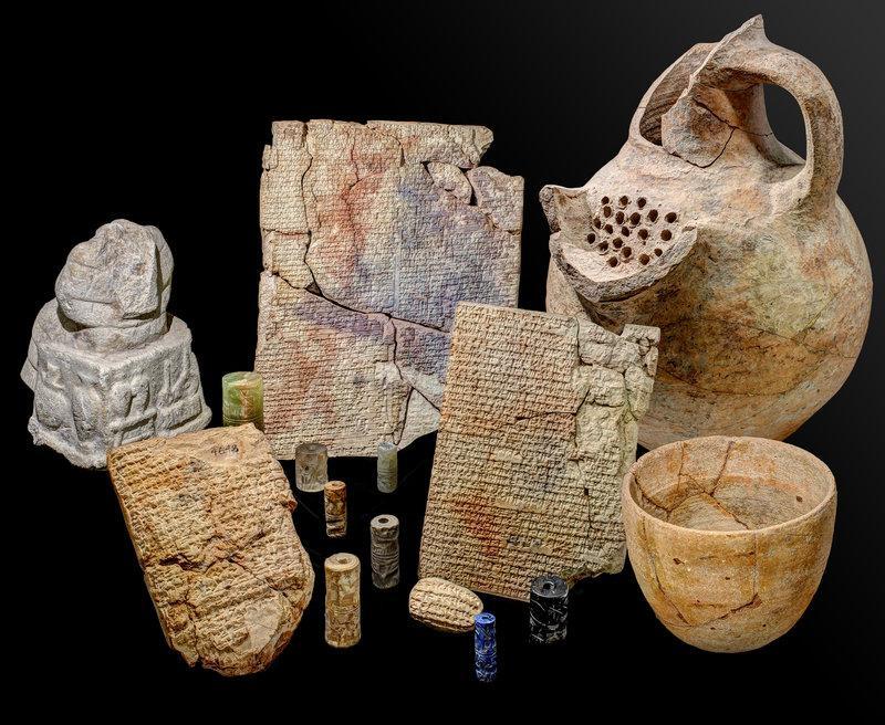 Тисячі років тому люди готували страви на кшталт рагу, супів та пирогів / фото Klaus Wagensonner/Yale Babylonian Collection