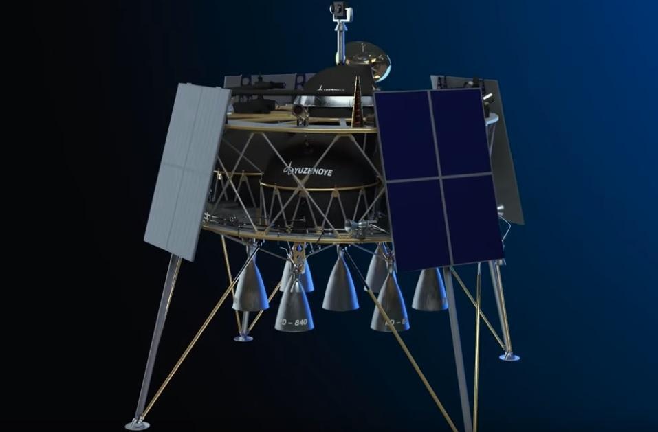 Макет аппарата презентовали на международной авиационно-космической выставке в Дубае / Скриншот