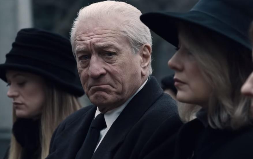 """Опублікован фінальний трейлер """"Ірландця"""" / Скріншот - Youtube, Netflix"""