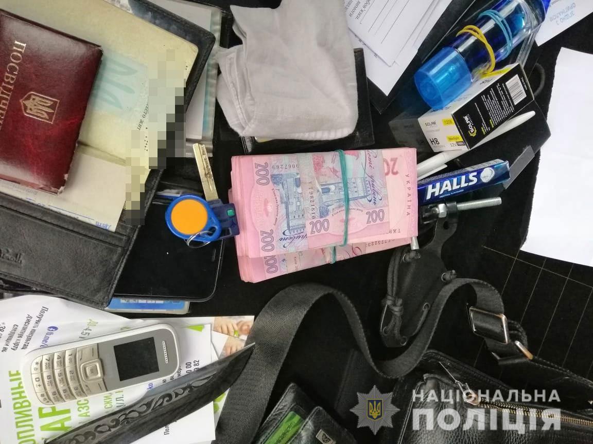 В ходе обысков полиция изъяла вещественные доказательства \ dp.npu.gov.ua