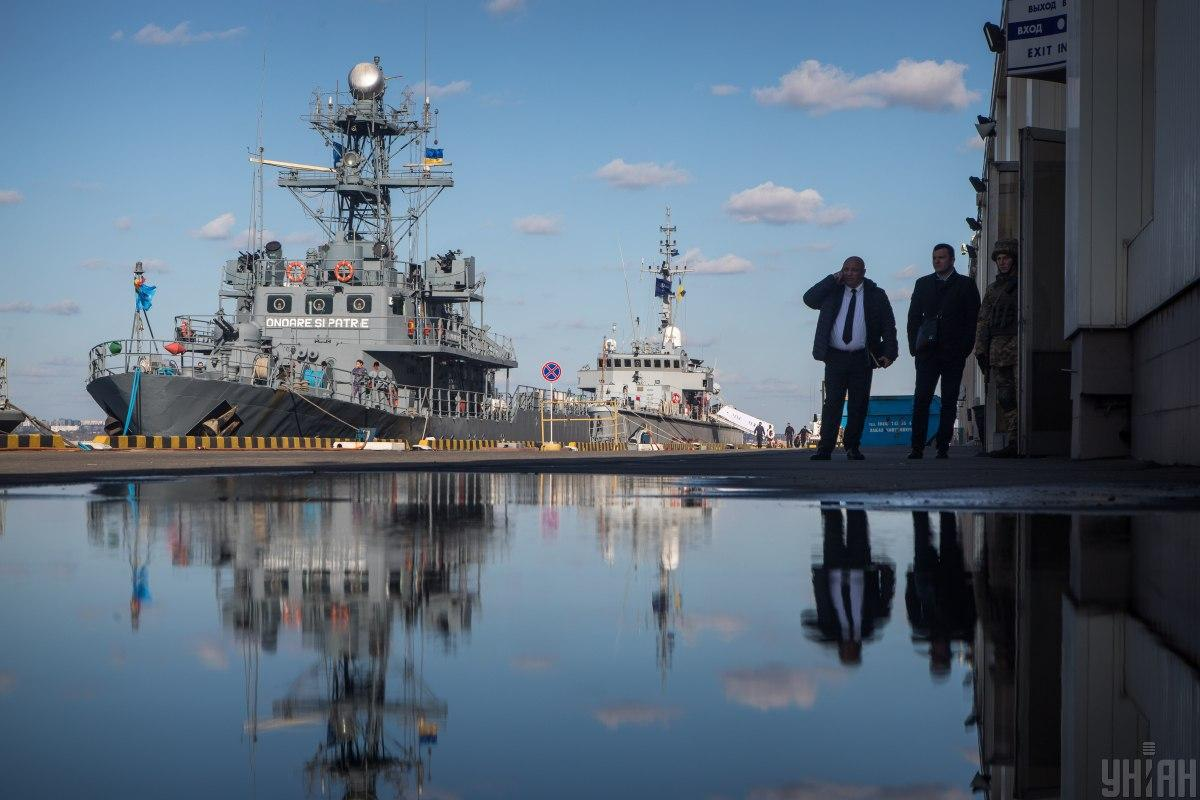 Это уже второй путь, который АМПУ использует, чтобы получить компенсацию за убытки, понесенные в Крыму / Фото УНІАН