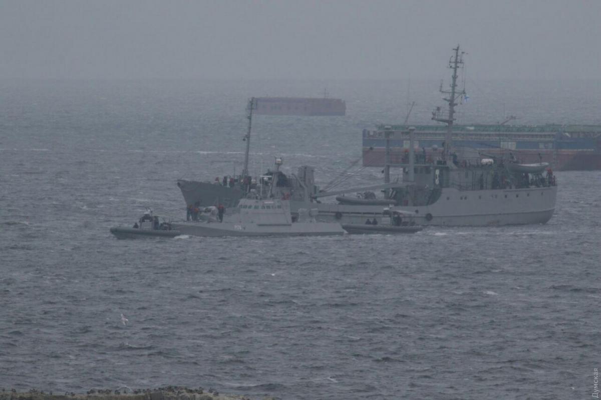 The Nikopol boat / Photo from Dumskaya.net