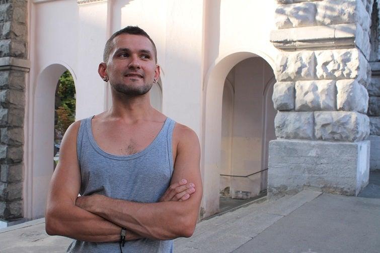 Виктор Пилипенко подвергся нападению гомофоба / фото life.pravda.com.ua