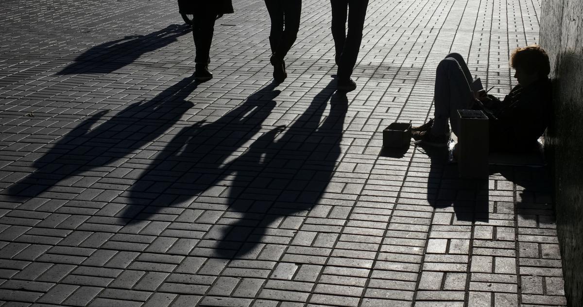 """Бедность снова осталась для власти """"в приоритете"""" / REUTERS"""