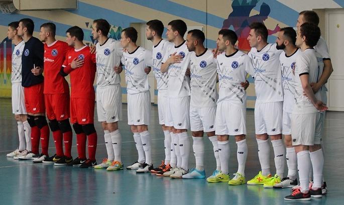 Продэксим одержал победу над минским клубом / фото: mfc-prodexim.com.ua