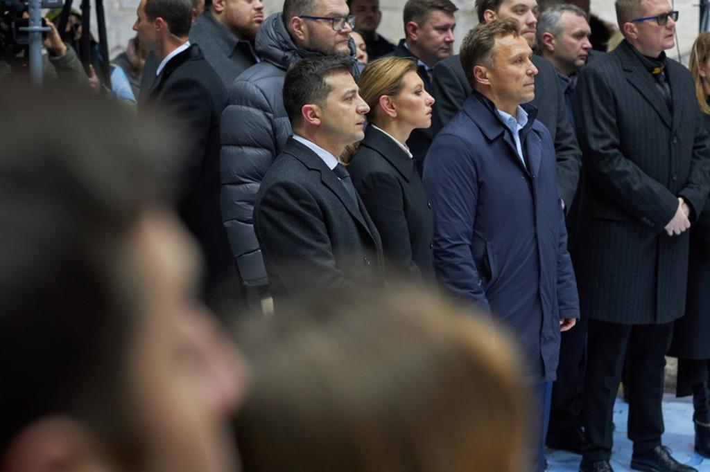 Годовщина Революции Достоинства / фото president.gov.ua