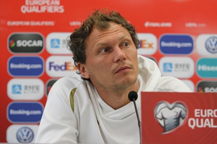 Андрей Пятов в восьми матчах отбора пропустил всего 4 гола / фото: УАФ