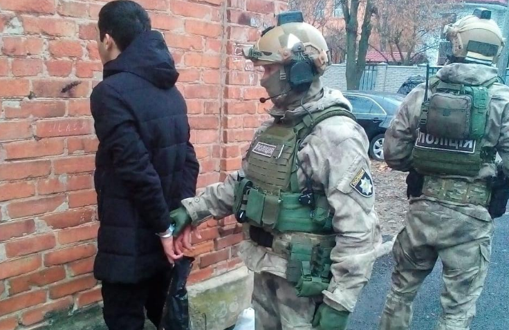 The detainee had lived in Russia for an extended period / Photo from npu.gov.ua