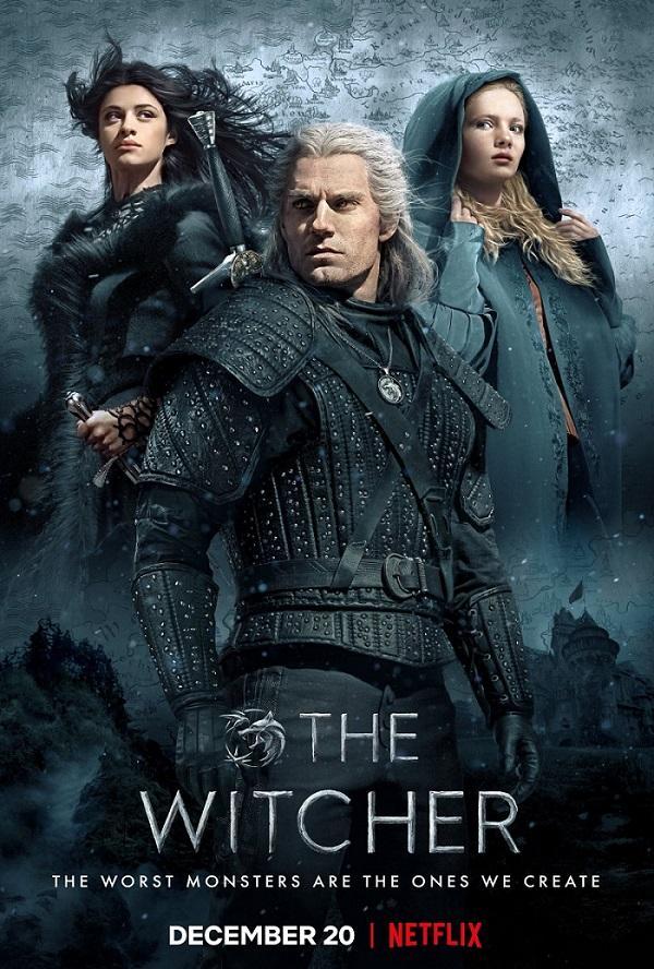 """Представлен постер сериала """"Ведьмак"""" \ Netflix"""