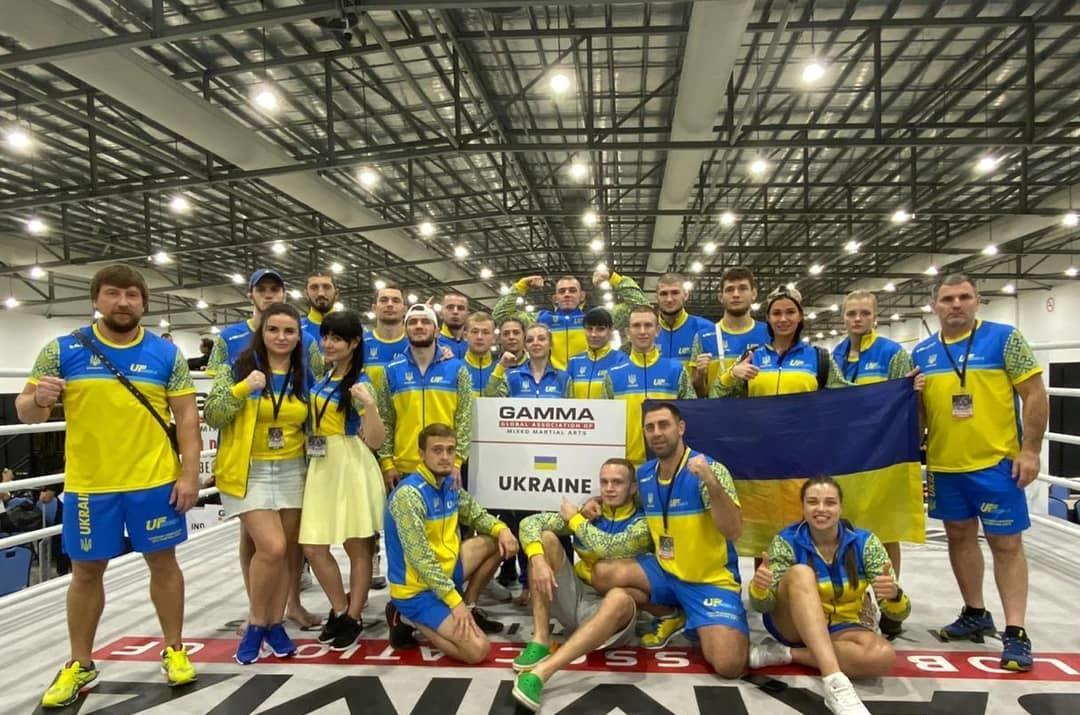 Украинцы стали первыми в общем зачете / фото: UFMMА