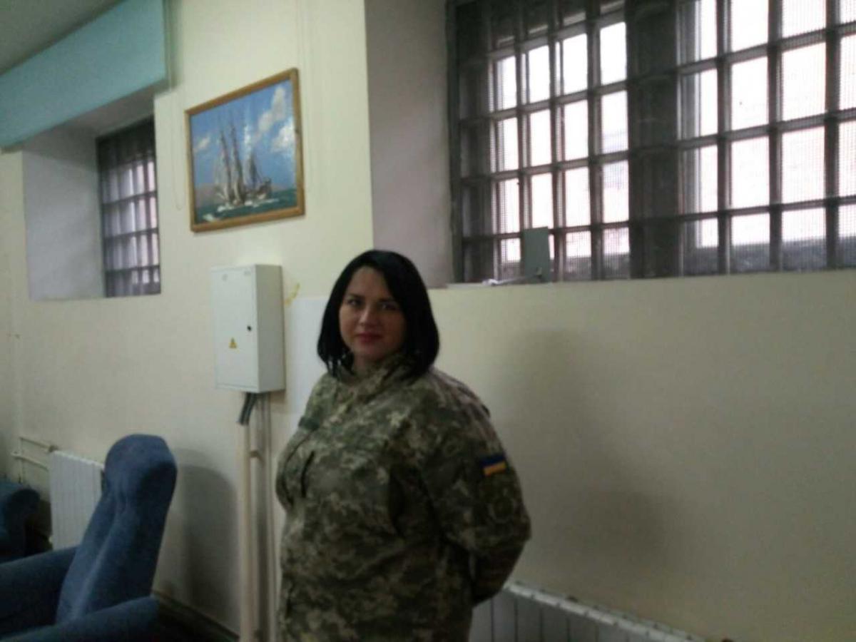 ЕленаАнтоненко рассказала УНИАН о женщинах, отбывающих наказание в Лукьяновском СИЗО/ фото: УНИАН