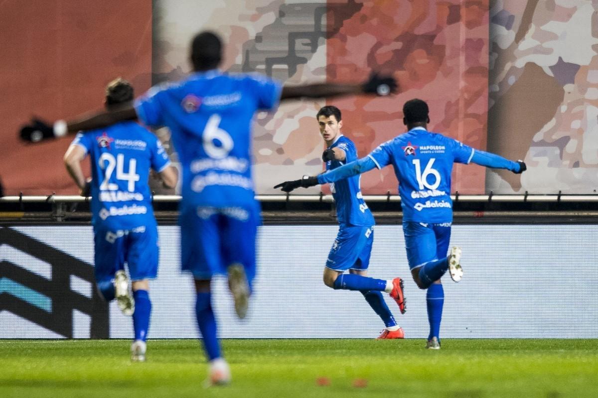 Роман Яремчук забил восемнадцатый гол в сезоне за Гент / фото: kaagent.be