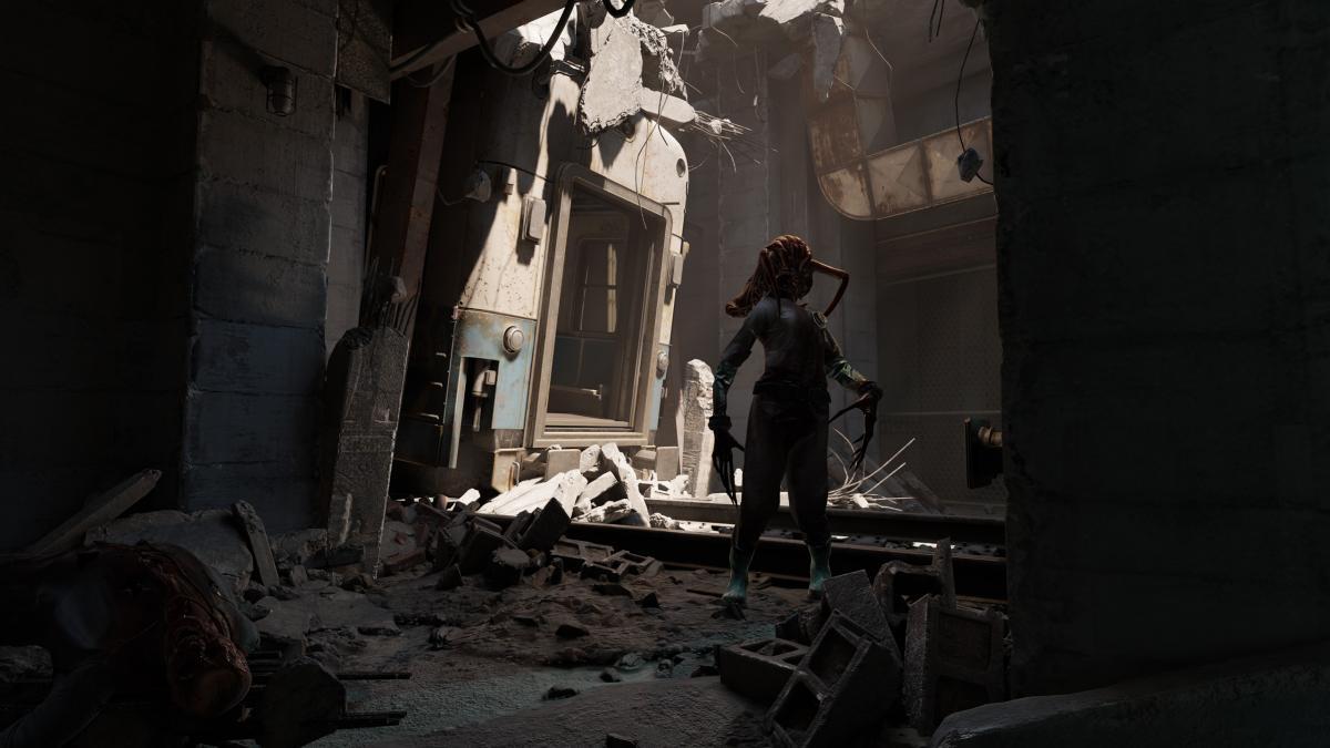 Half Life: Alyx дістанеться безкоштовно власникам VR-шоломів від Valve / скріншот з трейлера