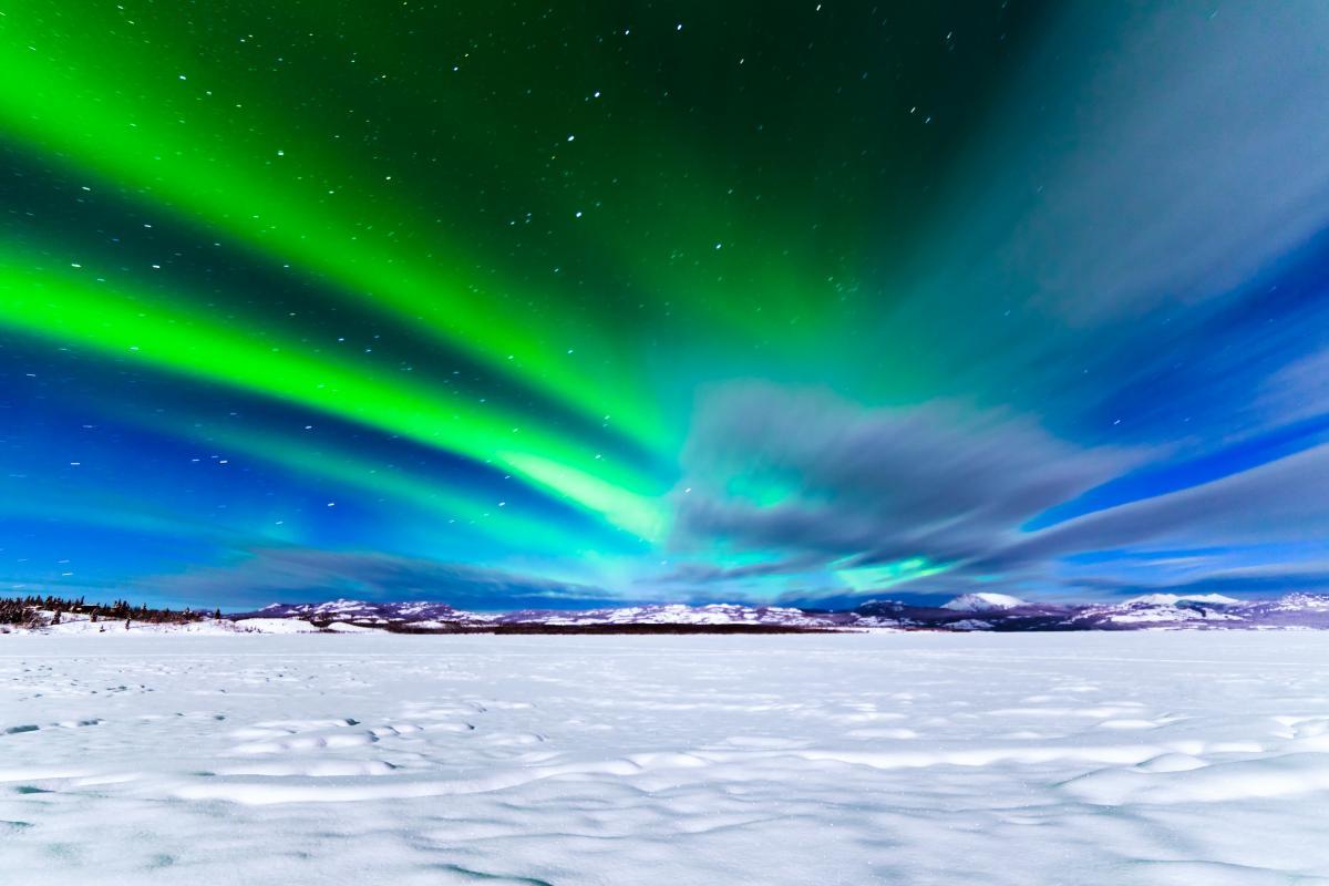 В Лапландии заработала камера, которая будет транслировать полярную ночь / фото naukatv.ru