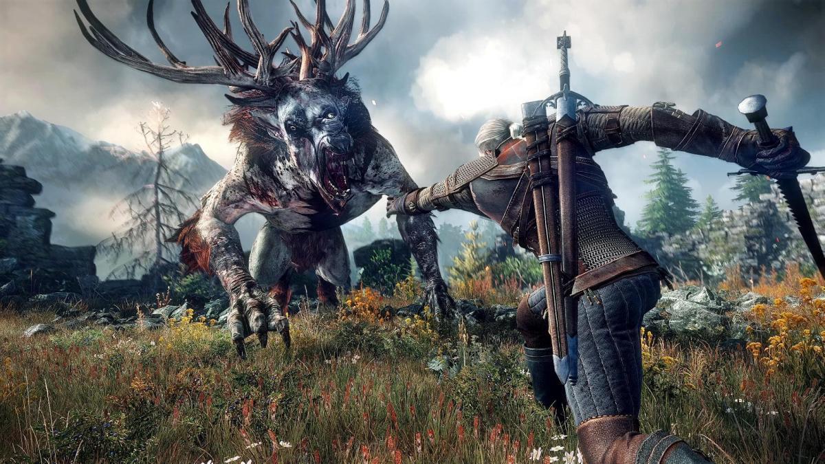 The Witcher 3 - это уже современная классика /скриншот из трейлера