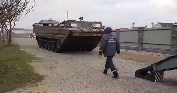ГСЧС проводит спасательную операцию / фото: скриншот видео ГУ ГСЧС Запорожской области