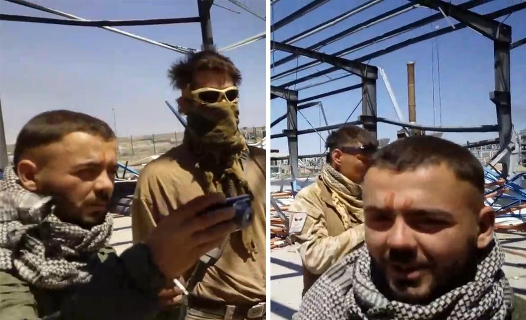 В разговоре с журналистами Руслан не признался, что пытал человека на видео / Скриншот