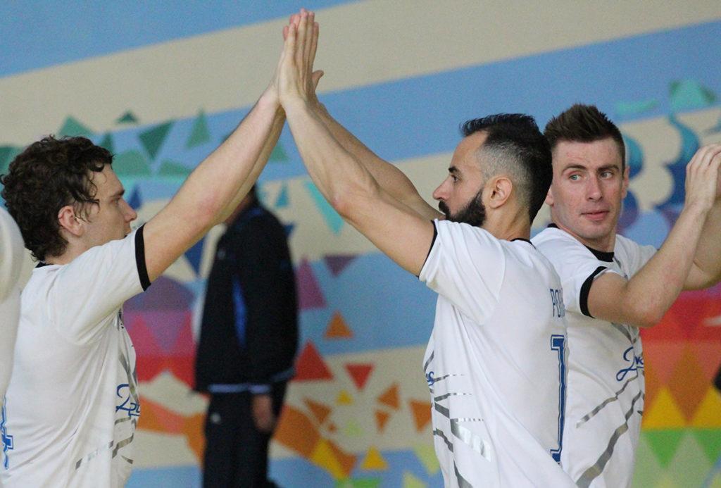 Продэксим одержал две победы в трех матчах / фото: mfc-prodexim.com.ua