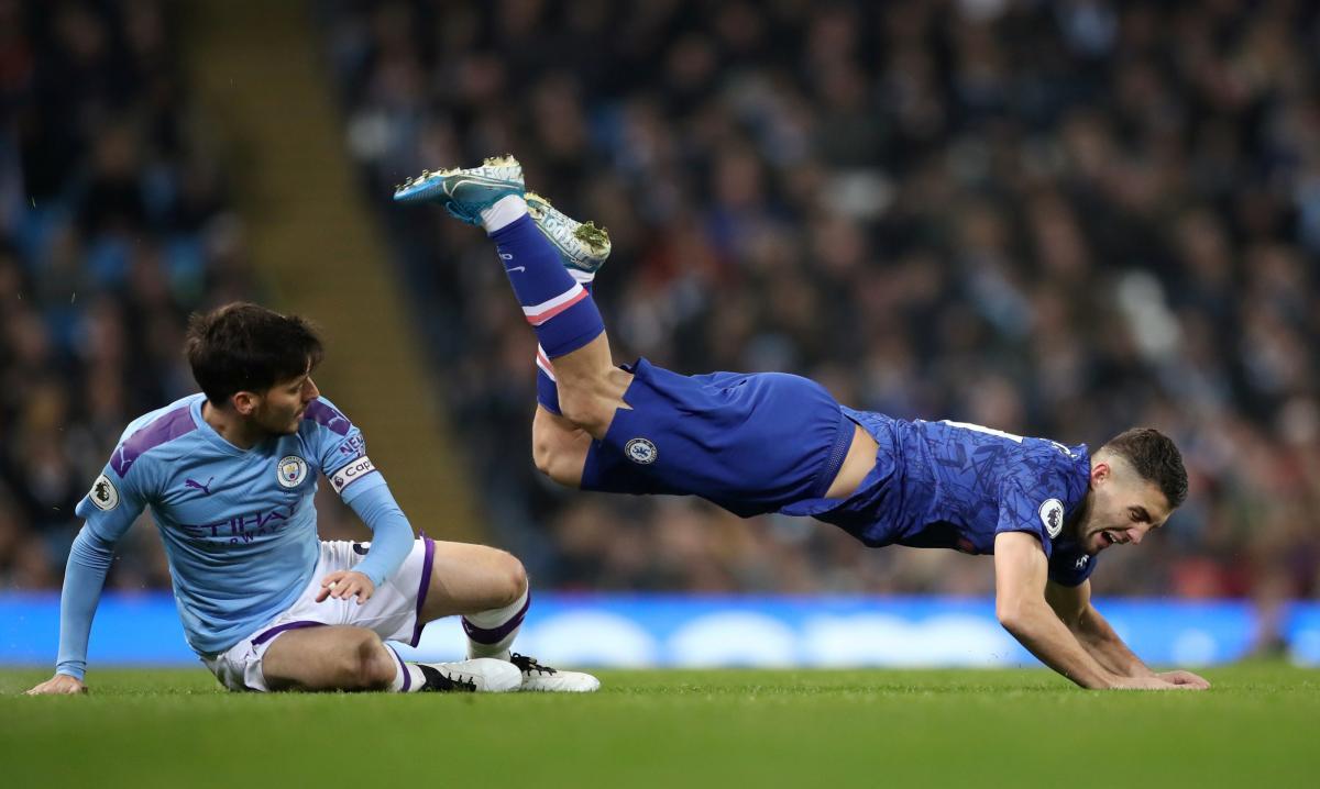 Манчестер Сити - Челси / REUTERS