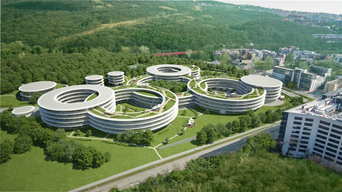 Компания ESET планирует построить в Братиславе свою новую штаб-квартиру, которая станет центром высоких технологий