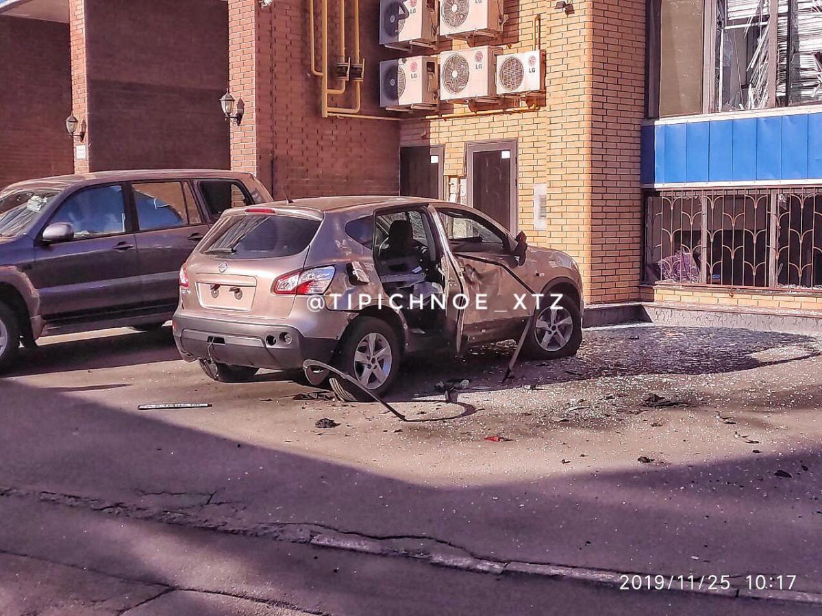 В настоящее время полиция устанавливает обстоятельства взрыва \ Типичное ХТЗ