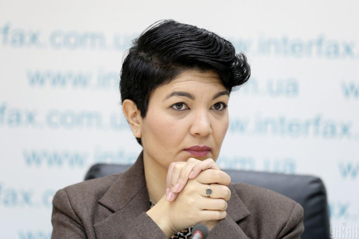 Тамила Ташева отметила, что Россия скрывает правдивые данные / фото УНИАН