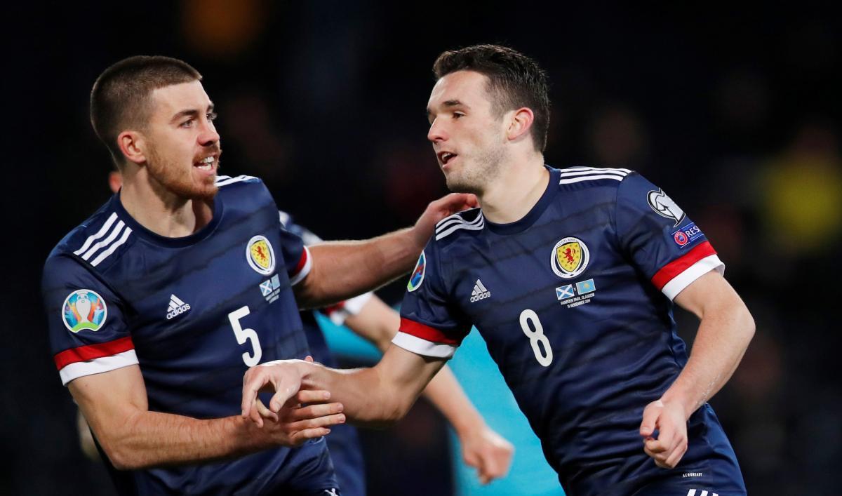 Шотландия финишировала в квалификации Евро-2020 следом за Россией / REUTERS