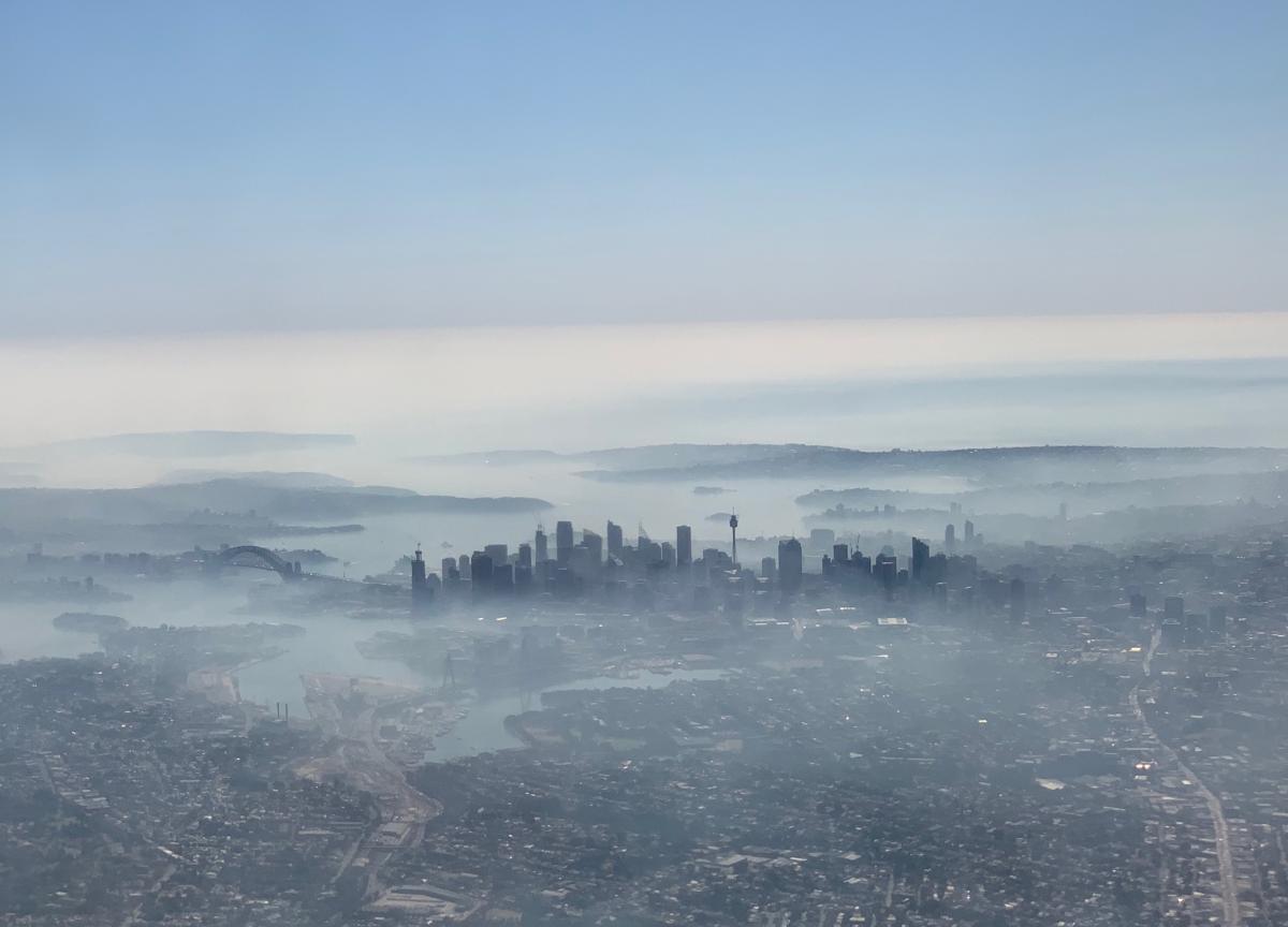 Сидней накрыл смог / REUTERS