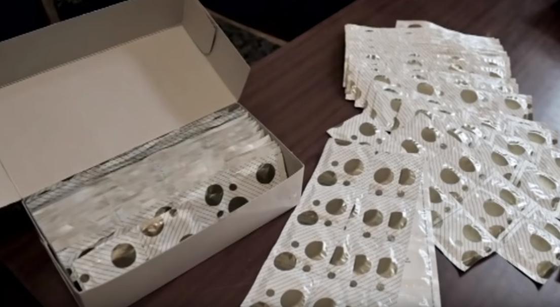 Во время обысков у задержанных нашли 171 презерватив / скриншот