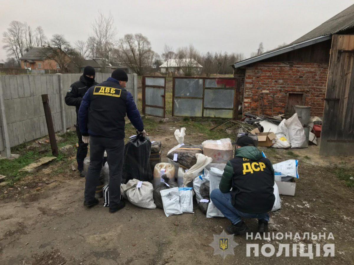 Нарколаборатории были расположены в двух областях: Львовской и Черкасской / Фото: npu.gov.ua