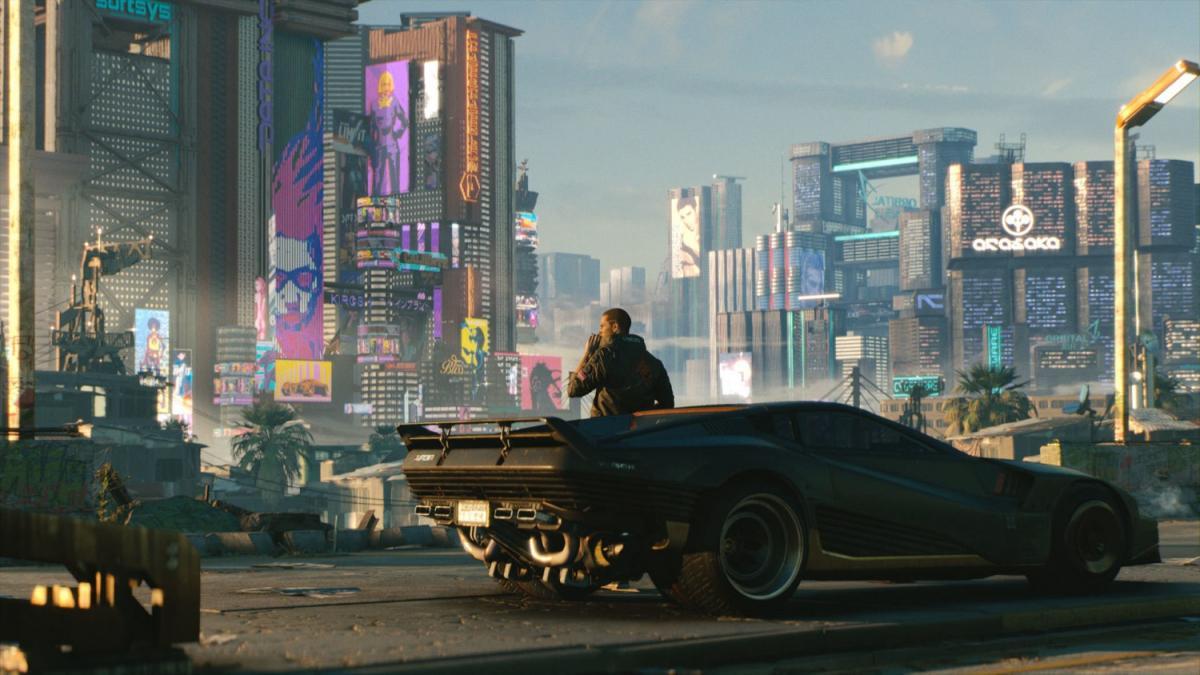 Cyberpunk 2077 /скриншот из трейлера