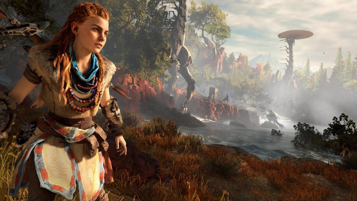 Horizon Zero Dawn - ексклюзивний екшн про світ майбутнього з первісними племенами і роботами-динозаврами / playstation.com