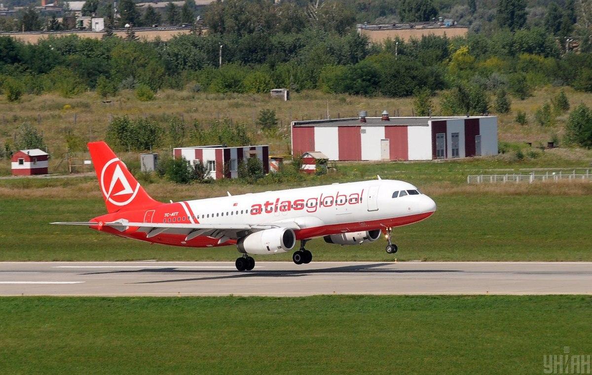 AtlasGlobal остановил все свои полеты / фото УНИАН