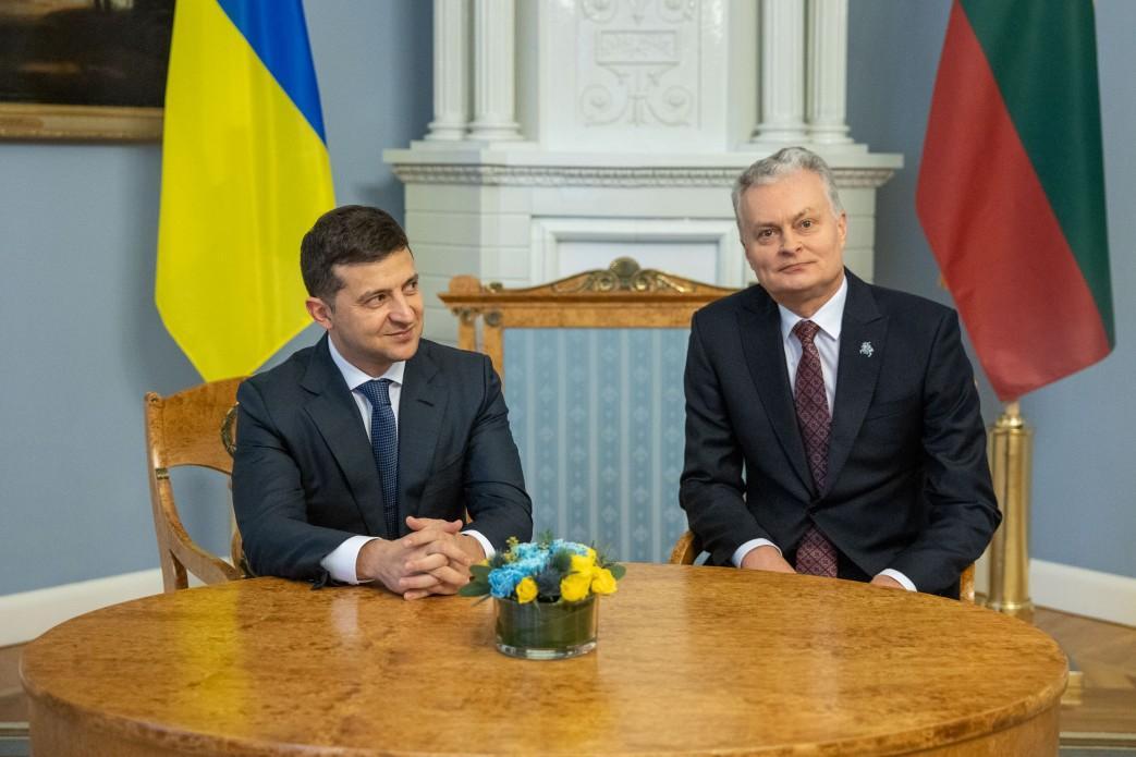 Сегодня в Вильнюсе продолжается официальный визит Зеленского / фото president.gov.ua