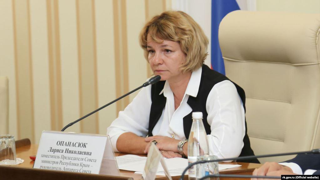 Лариса Опанасюк / фото: rk.gov.ua